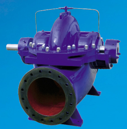 PS Series - double suction, horizontal, split case centrifugal pump.