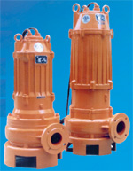 SP Series Submersible Sewage Pumps